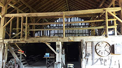 Interior Barn Beams