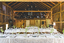 Rustic Barn - Reception