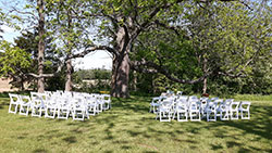 Outdoor Wedding - Guest Seating